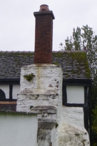 Structural Damage on a chimney stack