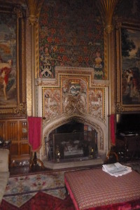 large fireplace Oxford
