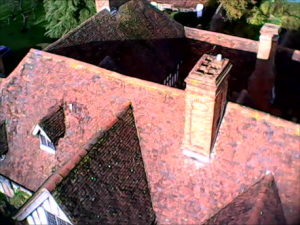 aerial drone Chimney Survey