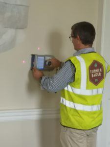 GPR wall survey